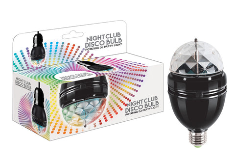 Night Club Disco Bulb Rotating DJ Party Light Show