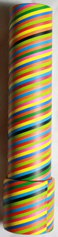 7.5 inch Kaleidoscope Colorful Striped Pattern