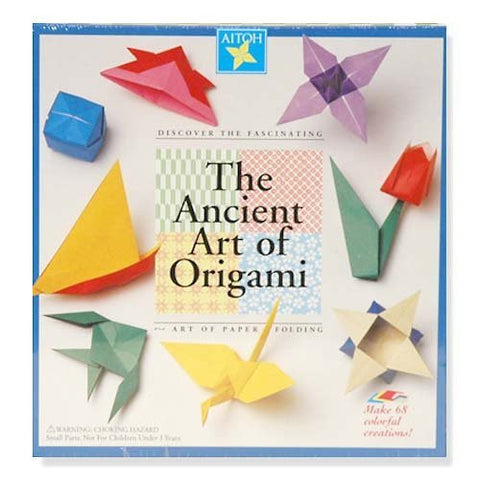 Origami Kit - 68 Sheets and Instruction Book