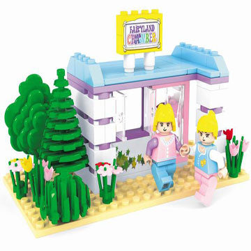 Fairyland Snack Shop BricTek Building Block Set - 110 Pieces