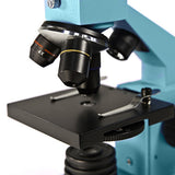 Levenhuk 2L NG Azure Microscope, w/Power Adapter