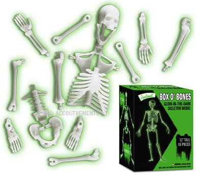 Box O Bones - Glow in the Dark Skeleton Puzzle