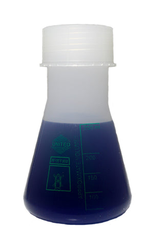 Erlenmeyer Flask : 250mL Polypropylene Plastic