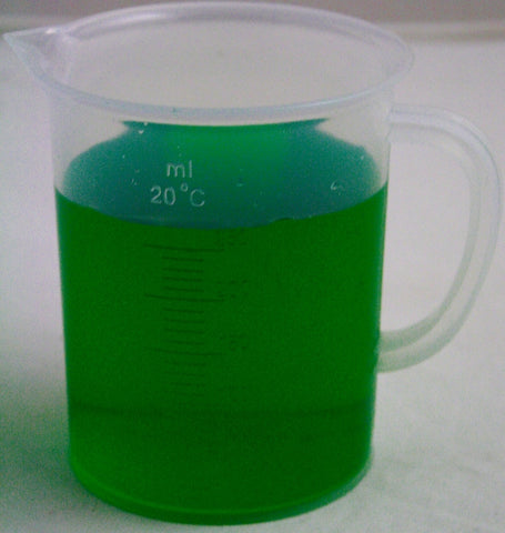 250mL Polypropylene Graduated Pitcher Beaker, Tall Form