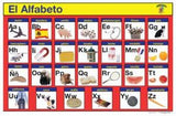 EL Alfabeto Write A Mat Placemat Learn Spanish Alphabet Clearance!