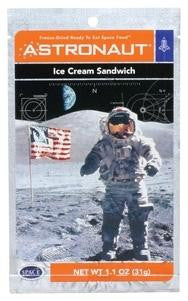 Astronaut Space Ice Cream Sandwich Freeze Dried