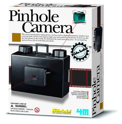 Pinhole Camera uses 135mm film Optical Science Kit by 4M