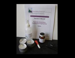 Forensic Chemistry of Fuming for Fingerprints Classroom Kit