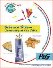 Science Fare - Chemistry at the Table Book w Experiments
