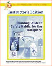 Building Student Safety Habits for the Workplace Book - Instructor Version