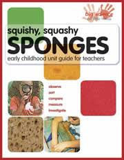 Squishy Squashy Sponges Early Childhood Activity Book