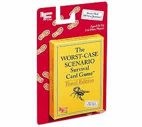 Worst Case Scenario Survival Card Game Travel Edition