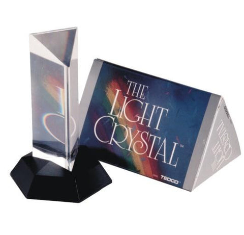 Light Crystal 4.5 Inch Prism: Splits Light Into Rainbow