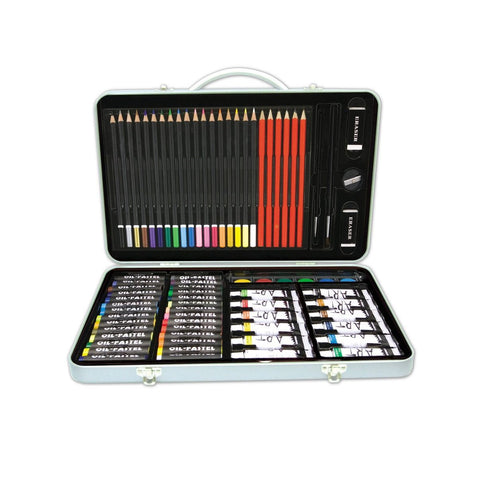 101 Piece Art Set in Metal Case