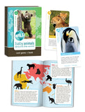 Wild Cards:Baby Animals-3 Games In One Colorful Deck w Book of Facts