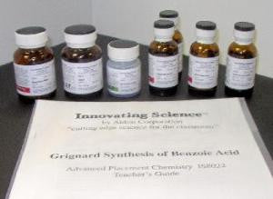 Grignard Synthesis of Benzoic Acid Microchemistry Demonstration Kit