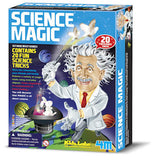 Science Magic 20 Tricks Kit Learn the Science Principles by 4M