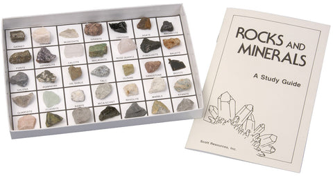 35 Rocks and Minerals of the United States Stone