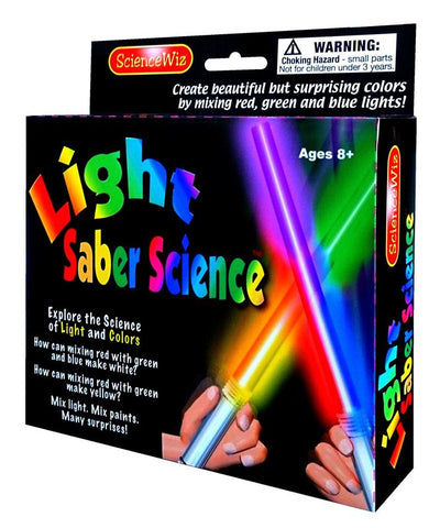 Science wiz light saber science
