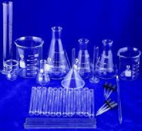 36 piece Lab Beaker & Flask Glassware Starter Set - Great Value!