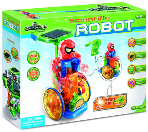 Greenex D.I.Y Scientific Solar Robot Experiment Kit, by Tedco
