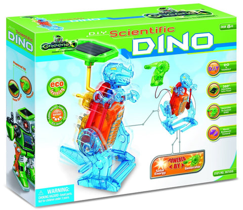 Greenex D.I.Y Scientific Solar Robotic Dinosaur Experiment Kit, by Tedco