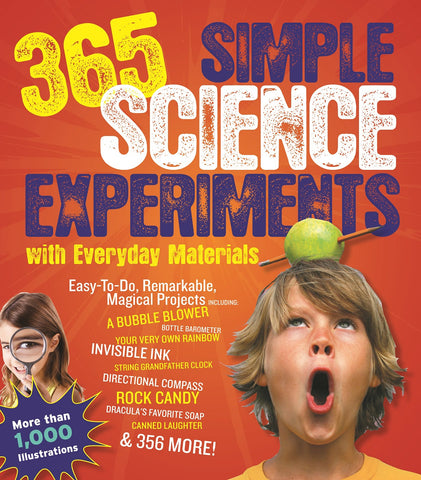 365 Simple Science Experiments w Everyday Materials