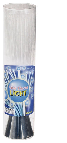 Fiber Optic Light Blue Light w Silver Base 13.5 Inches