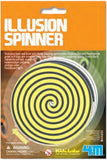 Optical Illusion Spinner by Kidz Labs 4M Five Disks