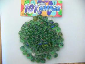 101-pc Marbles Glass Cats Eye