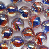 Sunrise Game Net Set 25 Pc Glass Mega Marbles