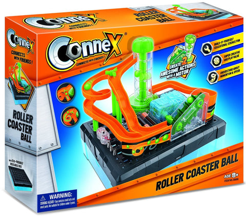 Connex D.I.Y. Roller Coaster Ball Experiment Kit, by Tedco