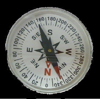 Magnetic Compass: 38mm diameter
