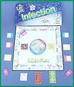 Infection The Board Game NEW 80 Diseases Glo Germ