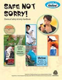 Safe Not Sorry Chemical Safety Activity Handbook
