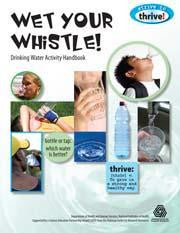 Wet Your Whistle! Drinking Water Activity Book Strive to Thrive Science