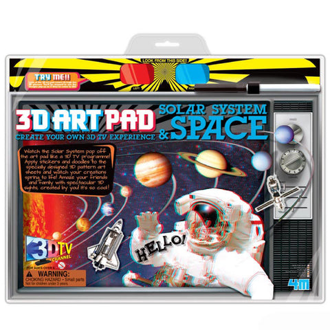 3D Art Pad Solar System & Space 4M Kit