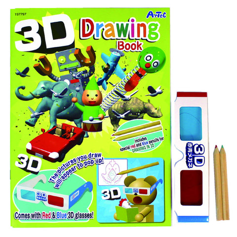 3D Drawing Book Kit By Artec