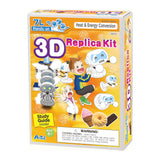 3D Replica Kit and Study Guide By Artec