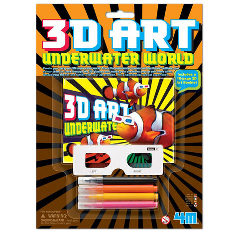3D Art Underwater World 4M Kit by Toysmith