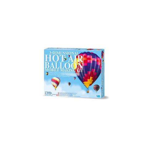 3D Hot Air Balloon Mobile Making  4M Kit
