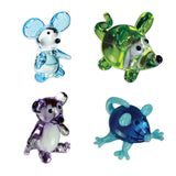 Looking Glass Torch Figurines 3 Different Mice and a Rat 4-Pack