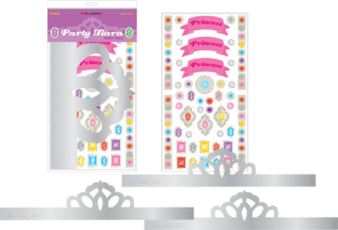 Mrs Grossman's Stickers - Party Tiaras Kit - Pack of 3