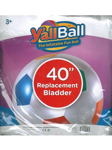 Y'all Ball 40 Inch Inflatable Replacement Bladder