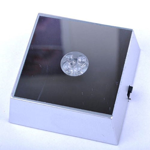 Multi-Color Changing Mirrored LED Lamp Base