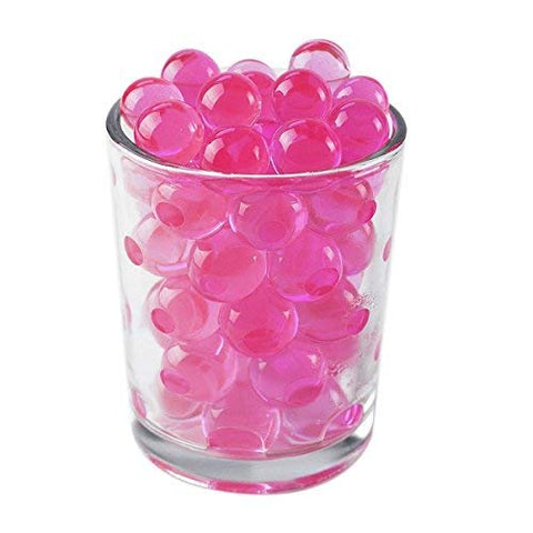 Pink Rainbow Water Beads Growing Polymer Gel Balls-1 Pound