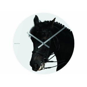 Karlsson Happy Farmers HORSE Wall Clock
