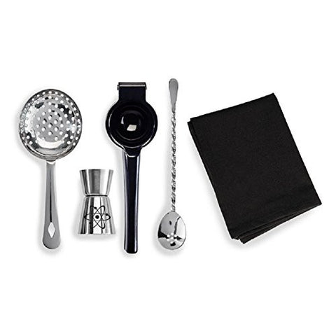 Bartender Tools - Science Themed 5pc Gift Set