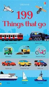 Usborne BoardBook 199 Things That Go - in Pictures