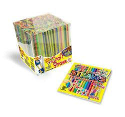 Wacky Whirley 1000 Straw Craft Kit with Project Book